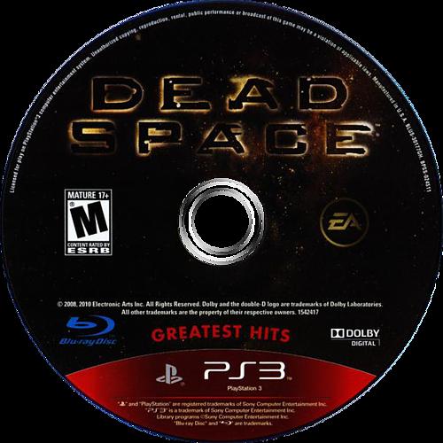 Dead Space PS3 discM (BLUS30177)