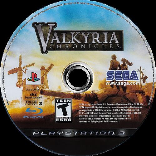 Valkyria Chronicles PS3 discM (BLUS30196)