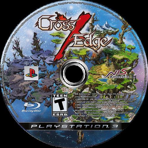 Cross Edge PS3 discM (BLUS30348)