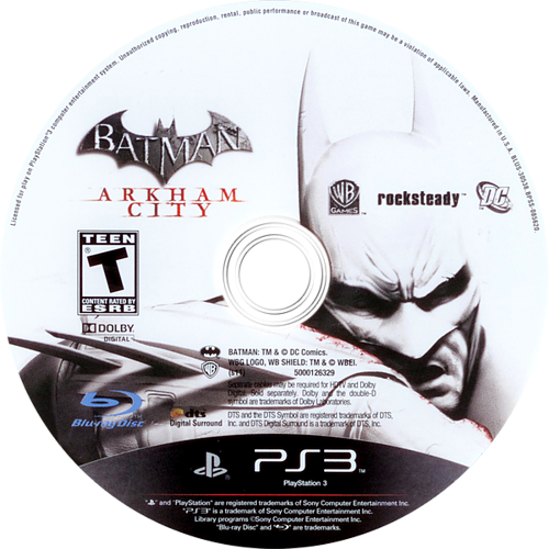 Batman: Arkham City PS3 discM (BLUS30538)