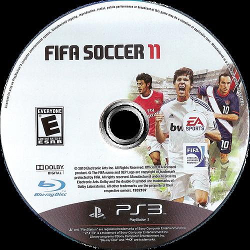 FIFA Soccer 11 PS3 discM (BLUS30630)