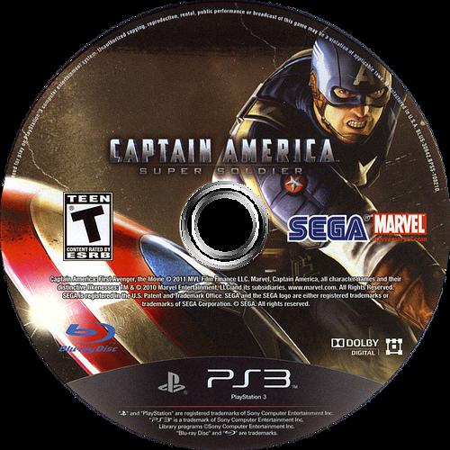 Captain America:Super Soldier PS3 discM (BLUS30642)