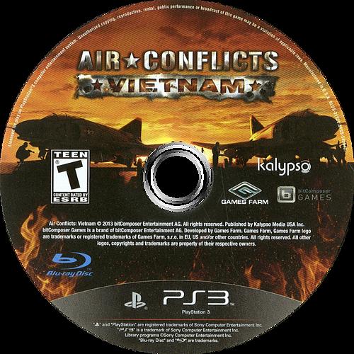 Air Conflicts: Vietnam PS3 discM (BLUS31320)
