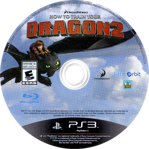 How to Train Your Dragon 2 PS3 discM (BLUS31388)