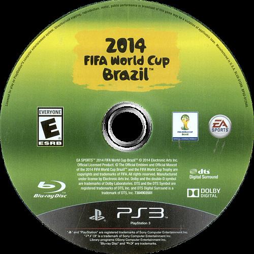 2014 FIFA World Cup Brazil PS3 discM (BLUS31389)