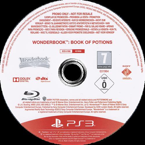 Wonderbook: El Libro de las Pociones PS3 discMB (BCES01866)