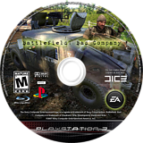 Battlefield: Bad Company PS3 disc (BLUS30118)