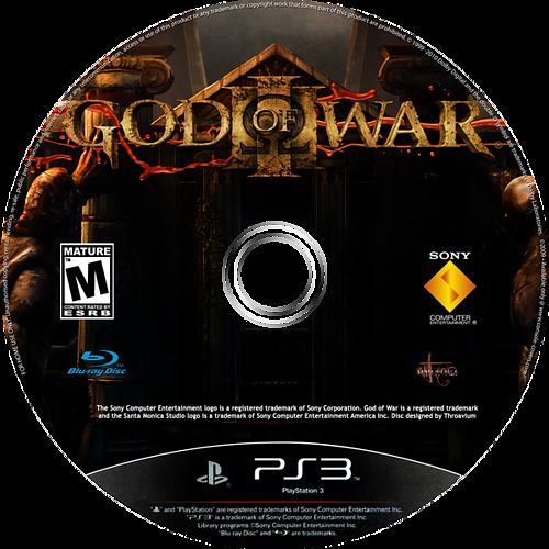 God of War III PS3 disccustomM (BCUS98111)