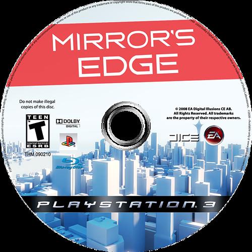 Mirror's Edge PS3 disccustomM (BLUS30179)