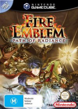 Fire Emblem: Path of Radiance GameCube cover (GFEP01)