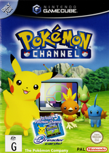 Pokémon Channel GameCube cover (GPAU01)