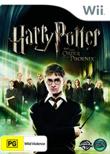 Harry Potter and the Order of the Phoenix Wii cover (R5PX69)