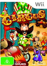 Circus Wii cover (R5QPGT)