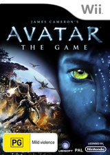 James Cameron's Avatar: The Game Wii cover (R5VP41)