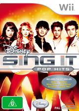 Disney Sing It: Pop Hits Wii cover (R62P4Q)