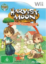 Harvest Moon: Tree of Tranquility Wii cover (R84P99)