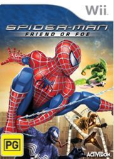 Spider-Man: Friend or Foe Wii cover (RFOX52)