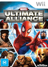 Marvel: Ultimate Alliance Wii cover (RMUP52)