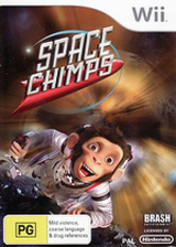 Space Chimps Wii cover (RP9XRS)