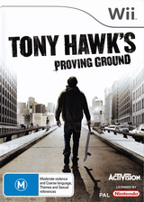Tony Hawk's Proving Ground Wii cover (RT9P52)