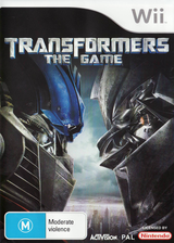 Transformers: The Game Wii cover (RTFP52)