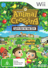 Animal Crossing: Let's Go to the City Wii cover (RUUP01)