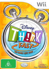 Disney Th!nk Fast: The Ultimate Trivia Showdown Wii cover (RXDX4Q)