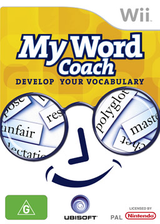 My Word Coach: Develop your vocabulary Wii cover (RZYP41)