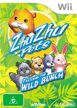 Zhu Zhu Pets: Featuring the Wild Bunch Wii cover (S2ZP52)