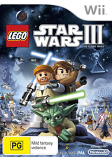 LEGO Star Wars III: The Clone Wars Wii cover (SC4P64)