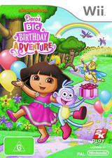 Dora's Big Birthday Adventure Wii cover (SDPP54)