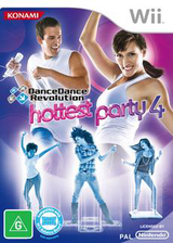 Dance Dance Revolution: Hottest Party 4 Wii cover (SDYPA4)