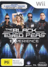 The Black Eyed Peas Experience D1 Edition Wii cover (SEPX41)