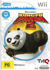 Kung Fu Panda 2 Wii cover (SKUP78)