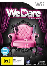 We Dare Wii cover (SLVP41)