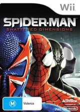 Spider-Man: Shattered Dimensions Wii cover (SPDP52)