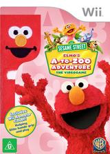 Sesame Street: Elmo's A-to-Zoo Adventure Wii cover (SS3UWR)