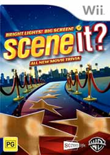 Scene It? Bright Lights! Big Screen! Wii cover (SSCSWR)