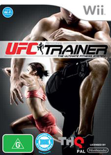 UFC Personal Trainer: The Ultimate Fitness System Wii cover (SU4P78)