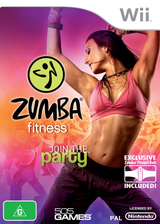 Zumba Fitness Wii cover (SZ5PGT)