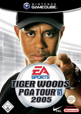 Tiger Woods PGA Tour 2005 GameCube cover (G5TP69)