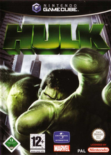 Hulk GameCube cover (GHKD7D)