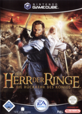 Der Herr der Ringe: Die Rückkehr des Königs GameCube cover (GKLD69)