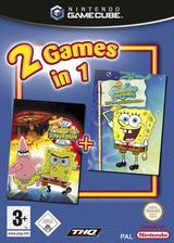 2 Games in 1:Nickelodeon SpongeBob Schwammkopf: Der Film + Nickelodeon SpongeBob Schwammkopf: Schlacht um Bikini Bottom GameCube cover (GU4Y78)