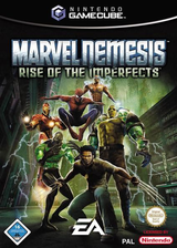 Marvel Nemesis: Rise of the Imperfects GameCube cover (GVLD69)