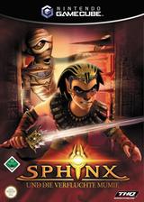 Sphinx und die verfluchte Mumie GameCube cover (GXPP78)