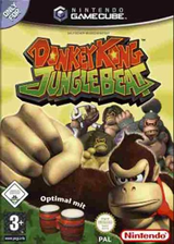 Donkey Kong Jungle Beat GameCube cover (GYBP01)