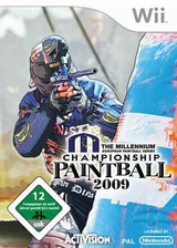 Millennium Championship Paintball 2009 Wii cover (R29P52)