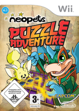 Neopets Puzzle Adventure Wii cover (R52P08)