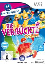 Die verrückte TV Show Wii cover (R7ZP41)